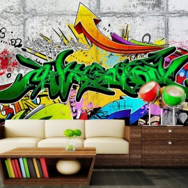 Papel de parede autocolante - Urban Graffiti