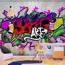 Papel de parede autocolante - Street Classic (Colourful)
