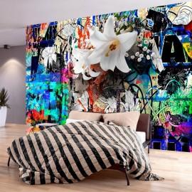 Papel de parede autocolante - Urban Lily