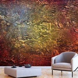 Papel de parede autocolante - Red Gold