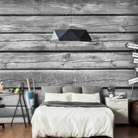 Papel de parede autocolante - Old Barn Wood