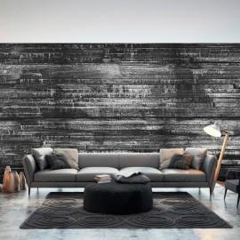 Papel de parede autocolante - Grey Boards
