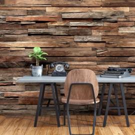 Papel de parede autocolante - Cedar Smell (Brown)