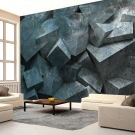 Papel de parede autocolante - Stone avalanche