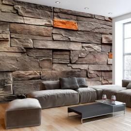 Papel de parede autocolante - Stony Bedrock