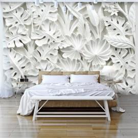 Papel de parede autocolante - Alabaster Garden