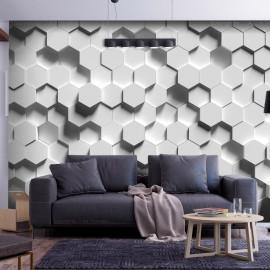 Papel de parede autocolante - Hexagonal Awareness