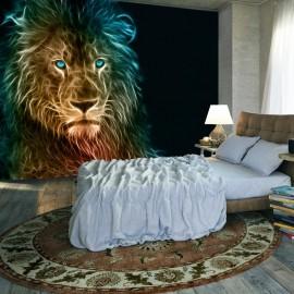 Papel de parede autocolante - Abstract lion