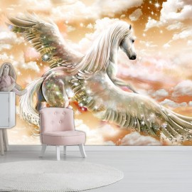 Fotomural - Pegasus (Orange)