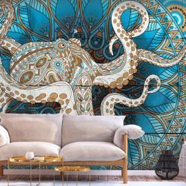 Papel de parede autocolante - Zen Octopus
