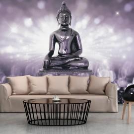 Papel de parede autocolante - Amethyst Buddha