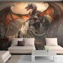 Papel de parede autocolante - Dragon castle