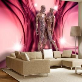 Papel de parede autocolante - Marble dance