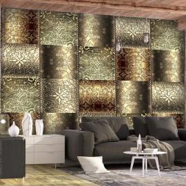 Papel de parede autocolante - Metal Plates