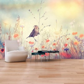 Fotomural autoadhesivo - Field Bird
