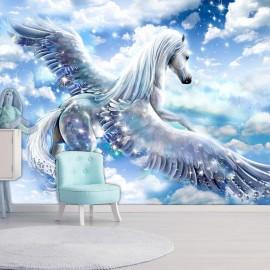 Fotomural autoadhesivo - Pegasus (Blue)