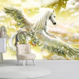 Fotomural autoadhesivo - Pegasus (Yellow)