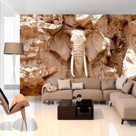 Papel de parede autocolante - Stone Elephant (South Africa)