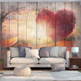 Papel de parede autocolante - Autumnal Love