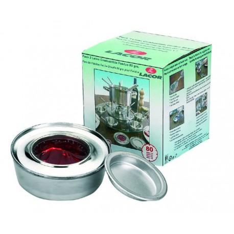 Pack latas combustible fondue