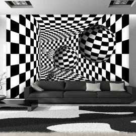 Fotomural - Black & White Corridor