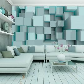 Fotomural - Blue puzzle