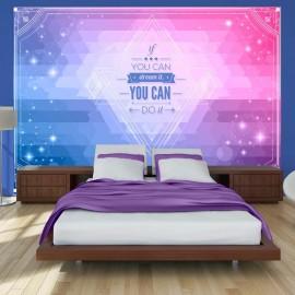 Fotomural - ¡Si lo puedes soñar, lo puedes hacer!