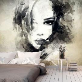 Fotomural - Mysterious Girl
