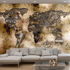 Fotomural - Antiguo mapa del mundo
