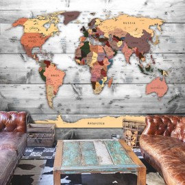 Fotomural - Direction: World