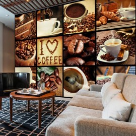 Fotomural - Coffee - Collage