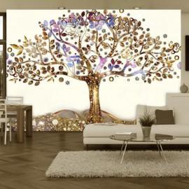 Fotomural - Golden Tree