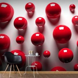 Fotomural - Red Balls