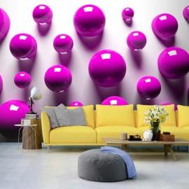 Fotomural - Purple Balls