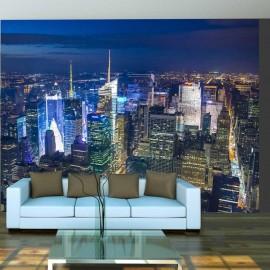 Fotomural - Manhattan - night