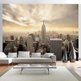Fotomural - Nueva York - Manhattan al amanecer