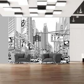 Fotomural - Las calles de Nueva York