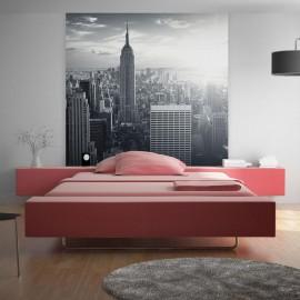 Fotomural - Vista del Manhattan nuevayorkeño al amanecer