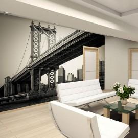 Fotomural - Puente de Manhattan, Nueva York