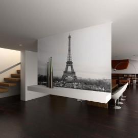 Fotomural - Paris: fotografia em preto e branco