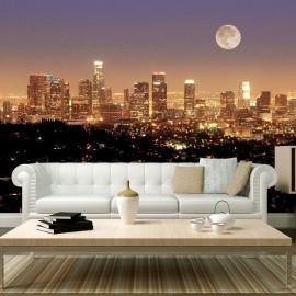 Fotomural - A lua sobre a Cidade dos Anjos