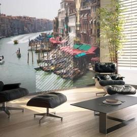 Fotomural - O Grande Canal, em Veneza, Itália