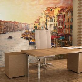 Fotomural - Venecia, una ciudad coloreada en el agua