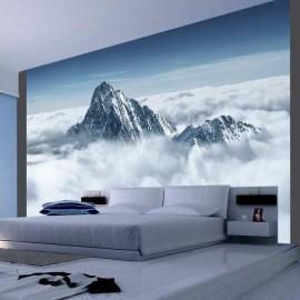 Fotomural - Montanha nas nuvens