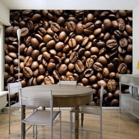 Fotomural - Roasted coffee beans