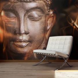 Fotomural - Buddha. Fire of meditation.