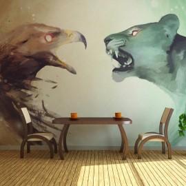 Fotomural - Interspecies clash