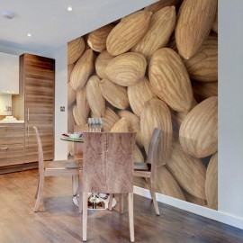 Fotomural - Tasty almonds