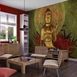 Fotomural - Buda dorado