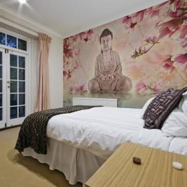 Fotomural - Buddha y magnolia
